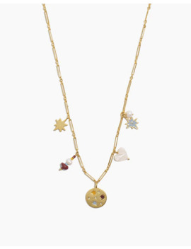 Spaced Out Charm Chain Necklace by Madewell