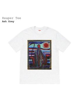 Supreme Reaper Size Xl Ash Grey T Shirt   Confirmed   Free Shipping by Supreme