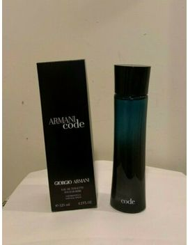 Armani Code By Giorgio Armani Edt For Men 4.2 Oz / 125 Ml *New In Sealed Box* by Giorgio Armani