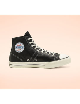 Leather Converse Lucky Star by Converse