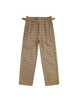 Wool Cashmere Gurkha Pant by Noah Nyc