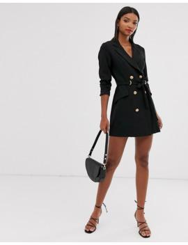 Ax Paris D Ring Blazer Dress by Asos