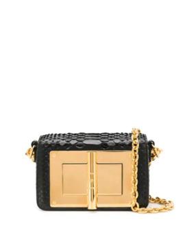 Small Natalia Python Shoulder Bag by Tom Ford