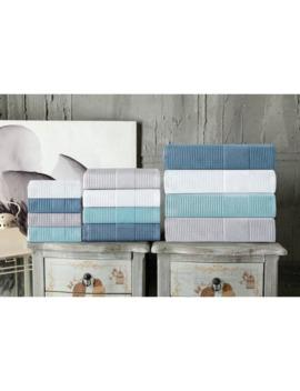 Enchante Home Ria Wash Towel (Set Of 8)   Washcloths 12 X 12 by Enchante Home