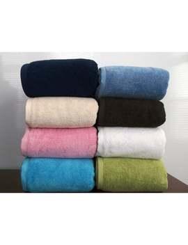 Royal Turkish Towel Cambridge Plush 100 Percent Turkish Cotton Jumbo Bath Sheet (Multiple Colors) by Royal Turkish Towel