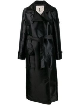 Long Belted Trench Coat by L'autre Chose