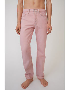 Jeans In Klassischer Passform Blau/Rosa by Acne Studios
