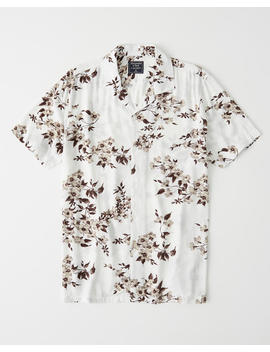 Resort Button Up Shirt by Abercrombie & Fitch