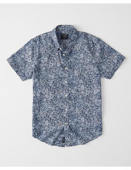 Short Sleeve Button Up Shirt by Abercrombie & Fitch