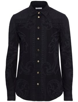 Printed Cotton Shirt by Versace Collection