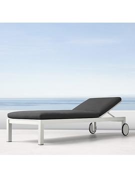 Aegean Aluminum Chaise by Restoration Hardware