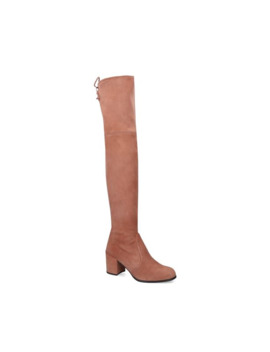 Suede Tieland Over The Knee Boots 85 by Stuart Weitzman