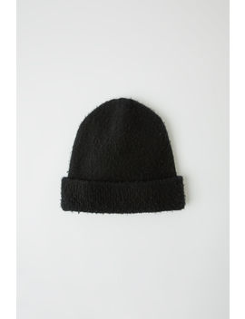 Gezupfte Beanie Black by Acne Studios