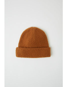 Gezupfte Beanie Almond Brown by Acne Studios