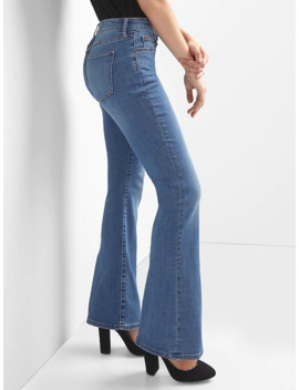 Mid Rise Perfect Boot Curvy Jeans by Gap