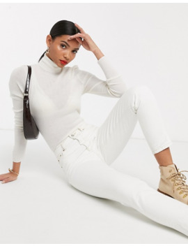 &-other-stories-roll-neck-merino-jumper-in-off-white by &-other-stories