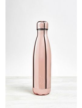 Chilly's Rose Gold 500ml Stainless Steel Water Bottle by Chilly's