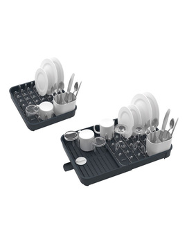 Extend Expandable Dish Rack Grey by Joseph Joseph
