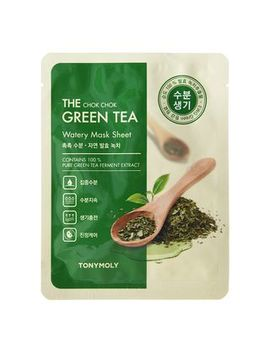 Tonymoly   The Chok Chok Green Tea Watery Mask Sheet by Tonymoly