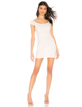 Tallulah Eyelet Mini Dress by Superdown