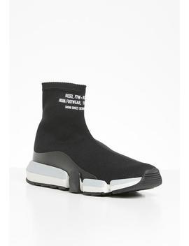 H Padola High Sock   Black by Diesel