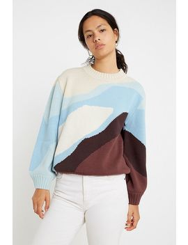 House Of Sunny Landscape Knit Jumper by House Of Sunny