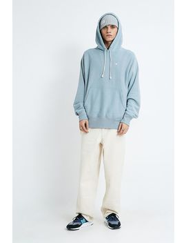 Champion Uo Exclusive Small C Washed Blue Hoodie by Champion