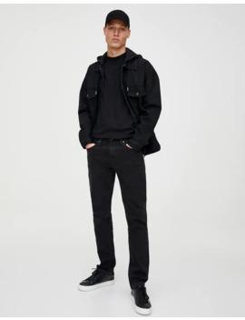 Τζιν Regular Comfort Fit σε μαύρο by Pull & Bear