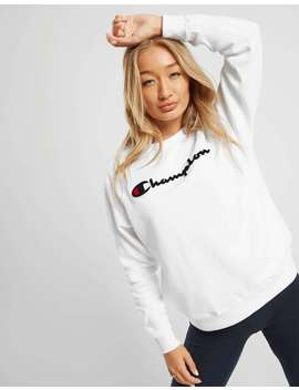 Champion Logo Crew Sweatshirt by Jd Sports