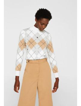 Mit Rauten Muster   Pullover by Esprit Collection