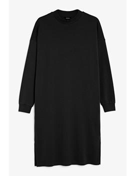 Long Sweatshirt Dress by Monki