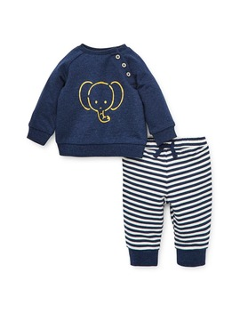 Elephant Sweatshirt & Pants Set by Little Me