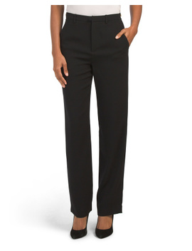 High Waist Straight Leg Pants by Tj Maxx