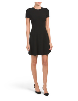 Modern Seamed Shift Dress by Tj Maxx