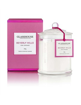 Beverly Hills Triple Scented Candle by Glasshouse Fragrances