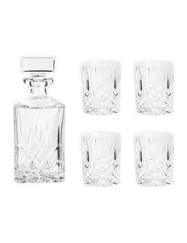 Whiskey Karaf Met Glazen Set Van 5 by Royal Doulton