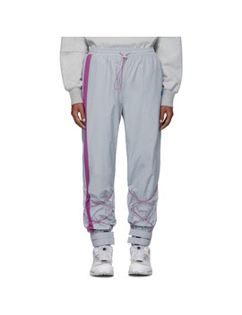 Gray Inter Track Pants by Ader Error