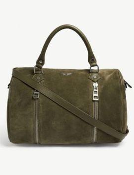 Sunny Suede Shoulder Bag by Zadig&Voltaire