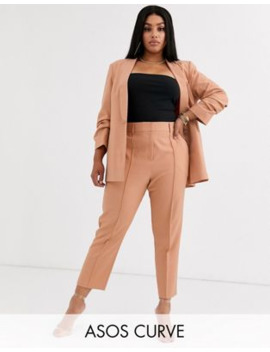 Asos Design Curve – Mix &Amp; Match – Ultimative, Knöchellange Anzughose by Asos