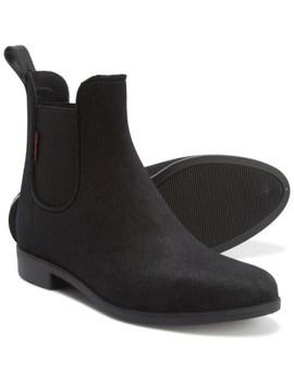 Chooka Vivien Velvet Chelsea Boots   Waterproof (For Women) by Chooka