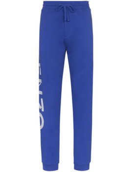Logo Print Track Trousers by Kenzo