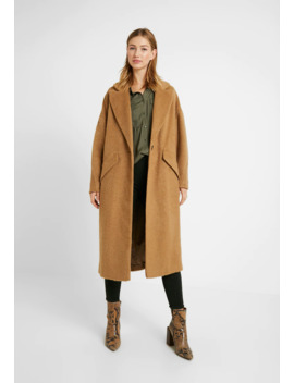 Effie Brushed Coat   Mantel by Topshop