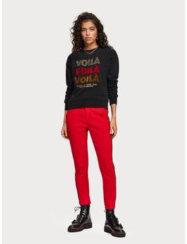 Towelled Artwork Sweater by Scotch&Soda