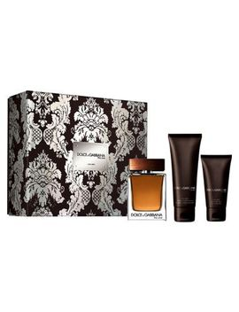 Dolce&Gabbana The One For Men Trio Set (Edt 100ml + Aftershave Balm 75ml + Shower Gel 50ml) by Dolce & Gabbana