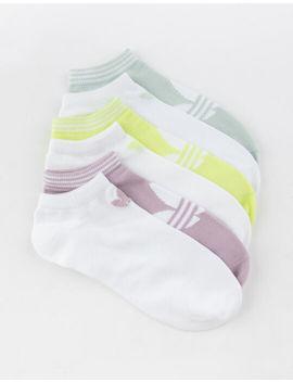 Adidas 6 Pack Trefoil Superlite Womens Ankle Socks by Adidas