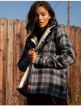 Dickies Sherpa Lined Plaid Jacket by Dickies