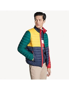 Colorblock Puffer Jacket by Tommy Hilfiger
