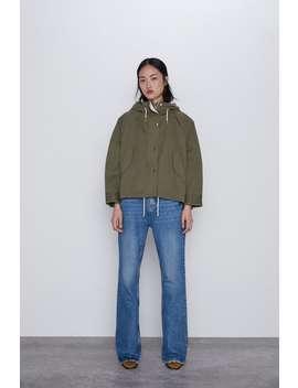 KapÜŞonlu Oversize Ceket by Zara