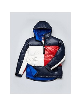 Flag Puffer Popover by Tommy Hilfiger