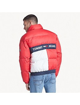Reversible Flag Puffer by Tommy Hilfiger